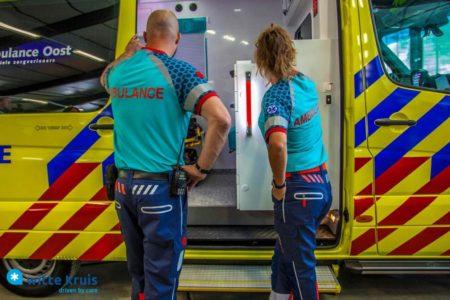 Nieuwe ambulancekleding